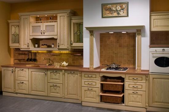 на фото кухни в классическом стиле (16)