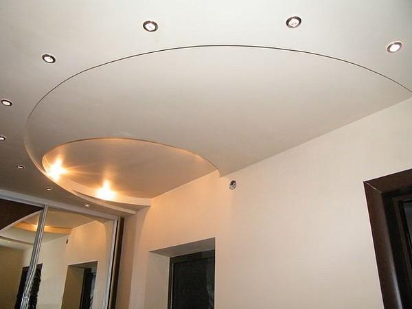 потолки из гипсокартона на кухне (18)