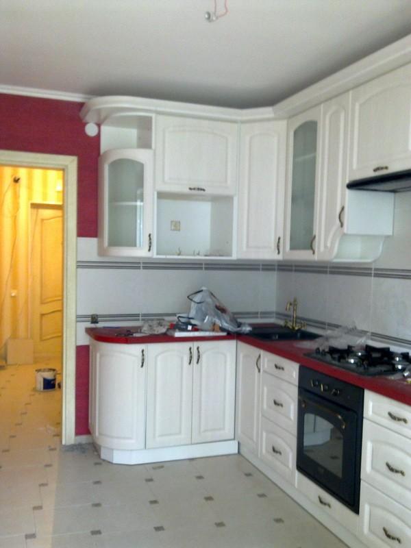 потолки из гипсокартона на кухне (14)