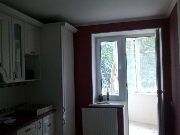 потолки из гипсокартона на кухне (13)
