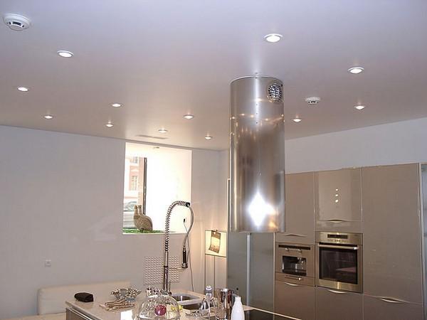 потолки из гипсокартона на кухне (4)