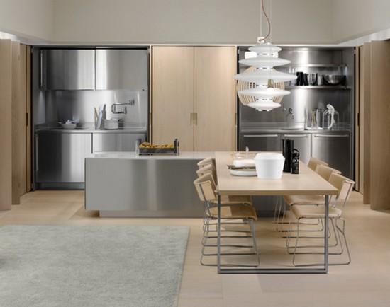 кухни в стиле хай тек фото (28)