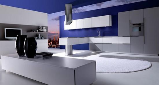 кухни в стиле хай тек фото (10)