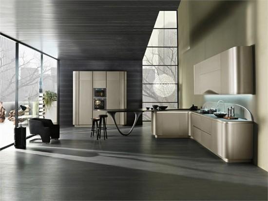 кухни в стиле хай тек фото (9)