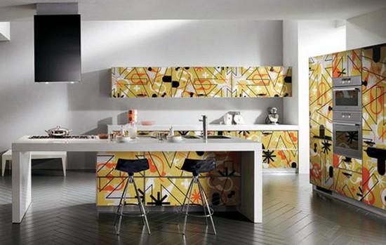 кухни в стиле хай тек фото (5)