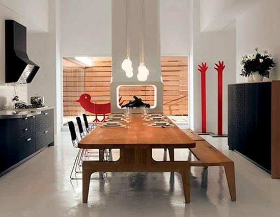 кухни в стиле хай тек фото (4)
