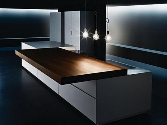 кухни в стиле хай тек фото (3)