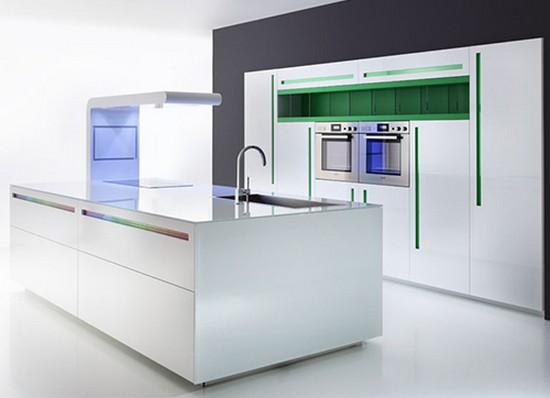 кухни в стиле хай тек фото (1)