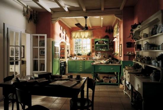 кухни в стиле кантри фото (19)