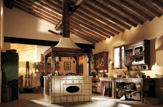 кухни в стиле кантри фото (18)