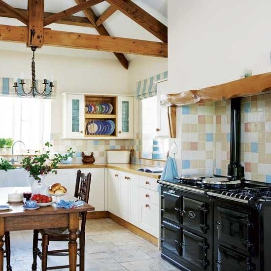 кухни в стиле кантри фото (15)