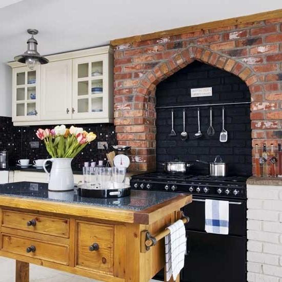 кухни в стиле кантри фото (12)