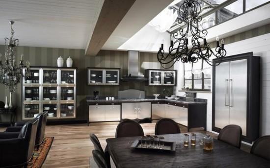 кухни в стиле кантри фото (9)