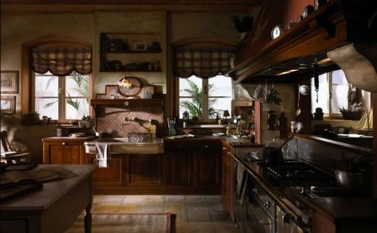 кухни в стиле кантри фото (5)
