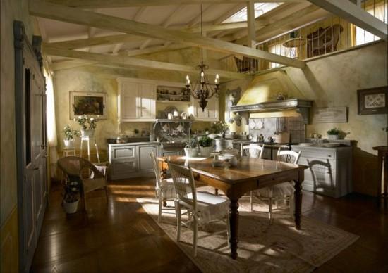 кухни в стиле кантри фото (1)