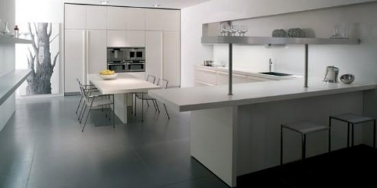 дизайн интерьера кухни минимализм (2)