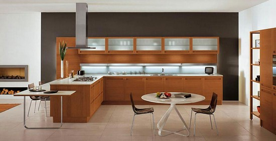 кухни в стиле модерн на фото (2)