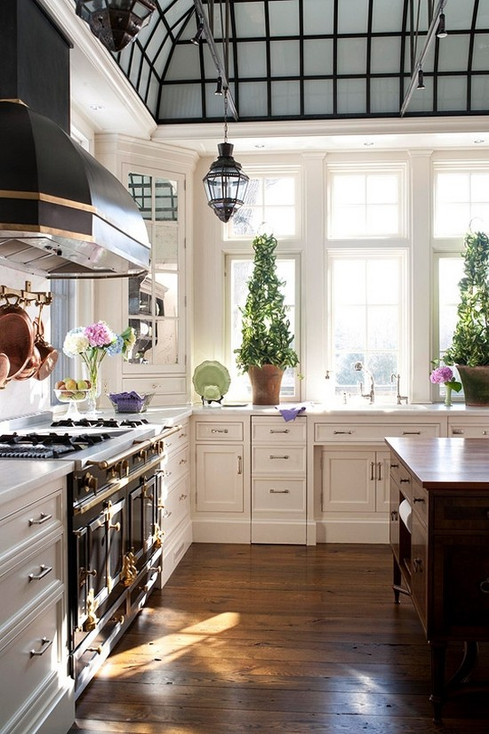Шторы для кухни прованс