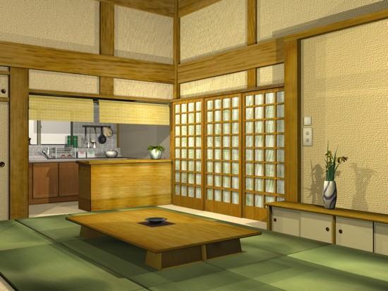 кухни в японском стиле (3)