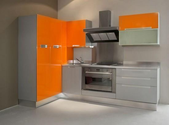 фото оранжевой кухни (21)