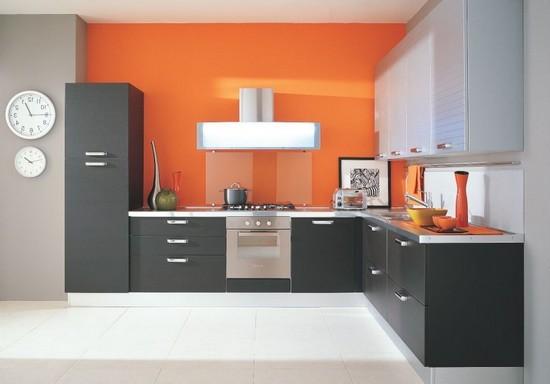 фото оранжевой кухни (15)
