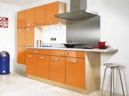 фото оранжевой кухни (11)