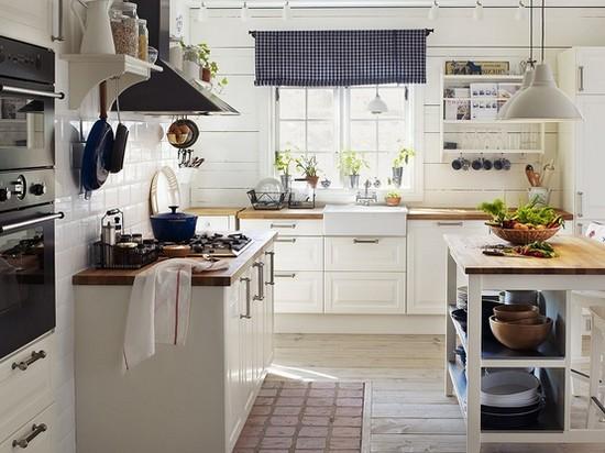 Кухня в скандинавском стиле на фото (21)