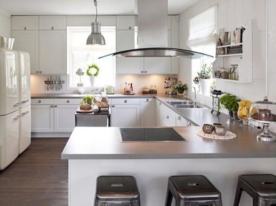 Кухня в скандинавском стиле на фото (18)