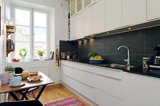 Кухня в скандинавском стиле на фото (17)