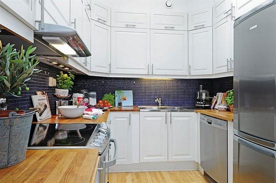 Кухня в скандинавском стиле на фото (16)