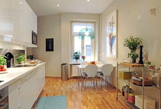 Кухня в скандинавском стиле на фото (14)