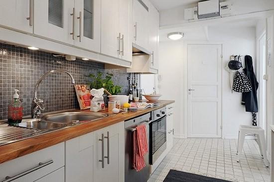 Кухня в скандинавском стиле на фото (11)