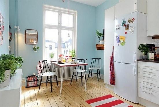 Кухня в скандинавском стиле на фото (10)