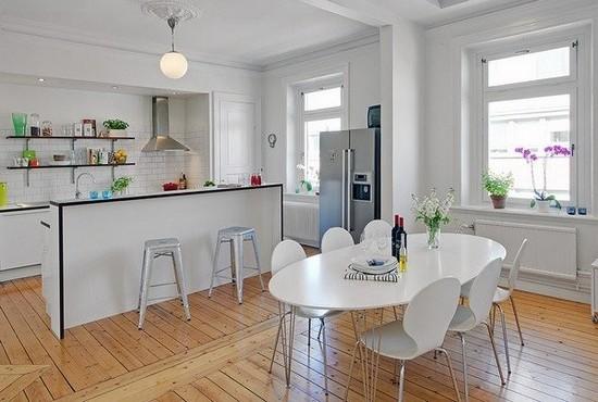 Кухня в скандинавском стиле на фото (9)