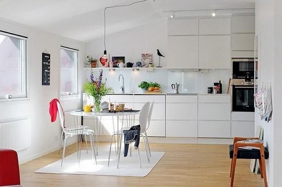 Кухня в скандинавском стиле на фото (8)