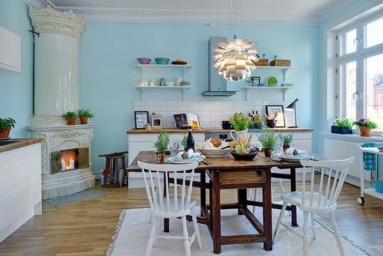 Кухня в скандинавском стиле на фото (6)