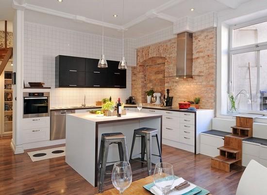 Кухня в скандинавском стиле на фото (5)