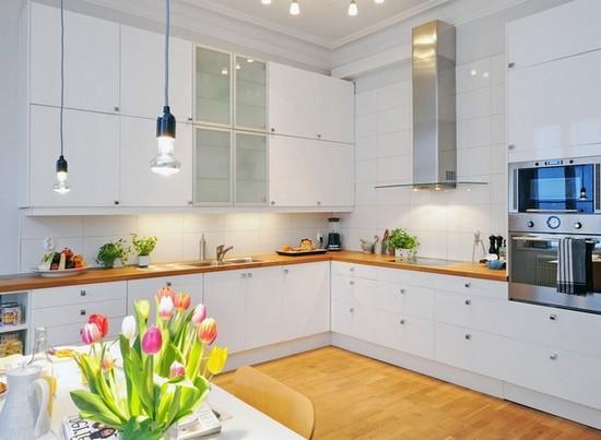 Кухня в скандинавском стиле на фото (4)