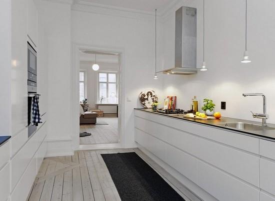 Кухня в скандинавском стиле на фото (3)