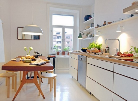 Кухня в скандинавском стиле на фото (2)