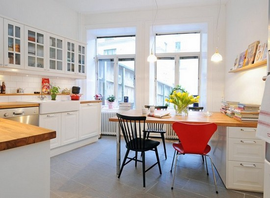 Кухня в скандинавском стиле на фото (1)