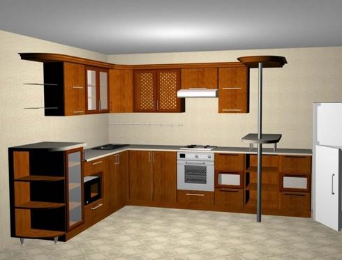 угловые кухни на фото (17)