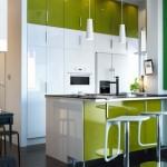 зеленая кухня икеа