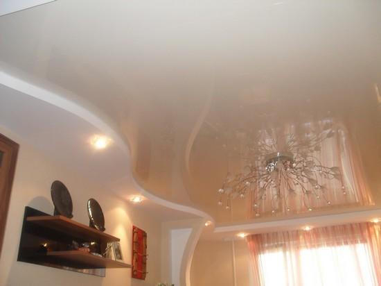 Потолок из гипсокартона с подсветкой своими руками в прихожую