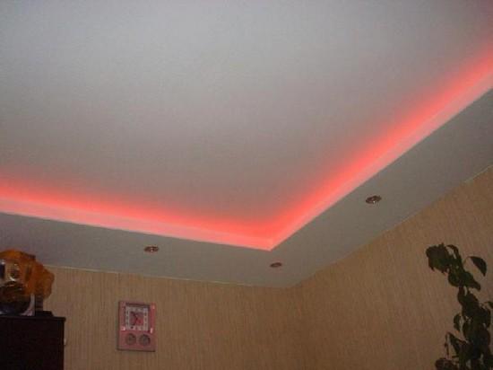 Светодиодная подсветка для кухни рабочей зоны своими