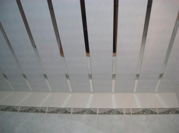 реечные потолки фото для кухни