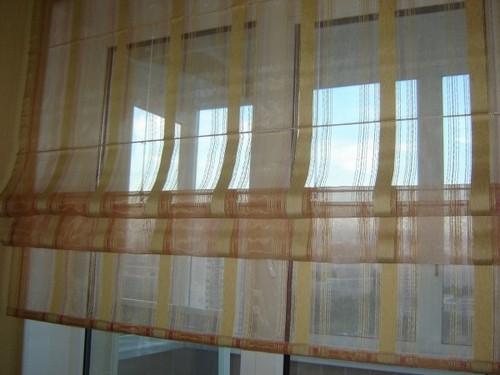 фото римских штор для кухни