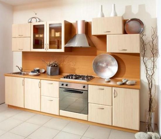 коричневая кухня на фото