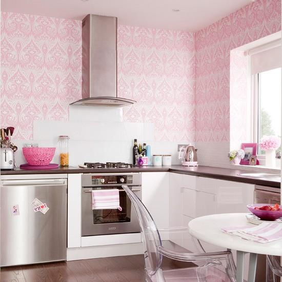 как выбрать цвет обоев для кухни