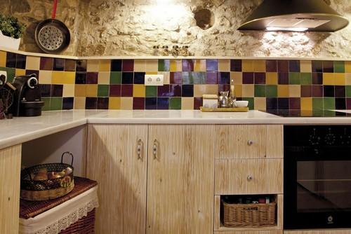 плитка 10x10 на кухне